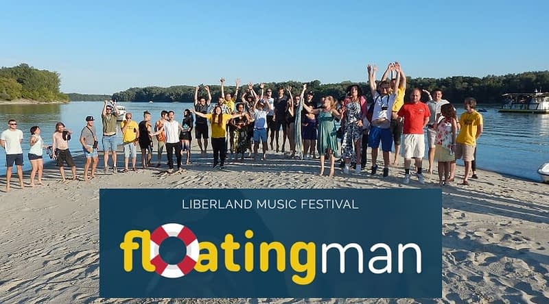 floating man liberland festival