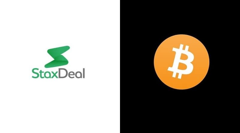 StaxDeal Accepts Bitcoin Payments