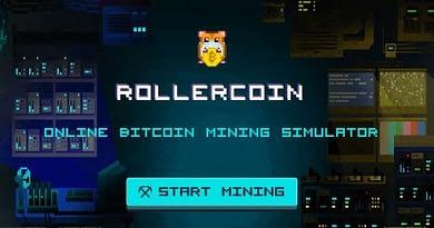 Rollercoin Game Bitcoin Mining