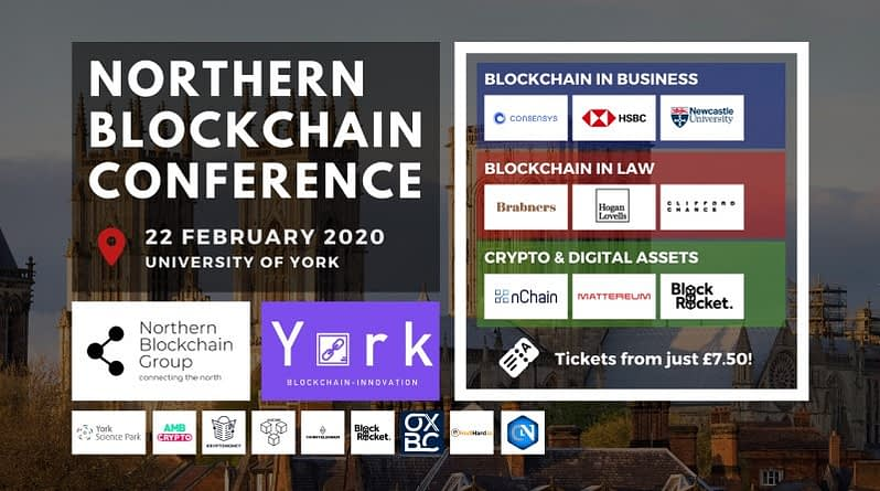 Northern Blockchain Conference York Feb 2020