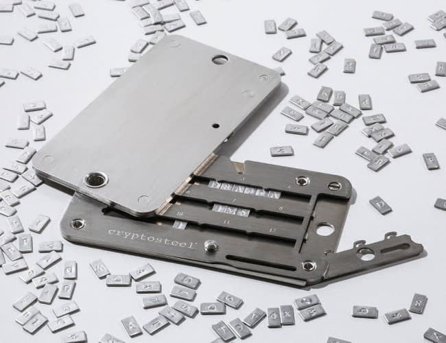 cryptosteel cassette review