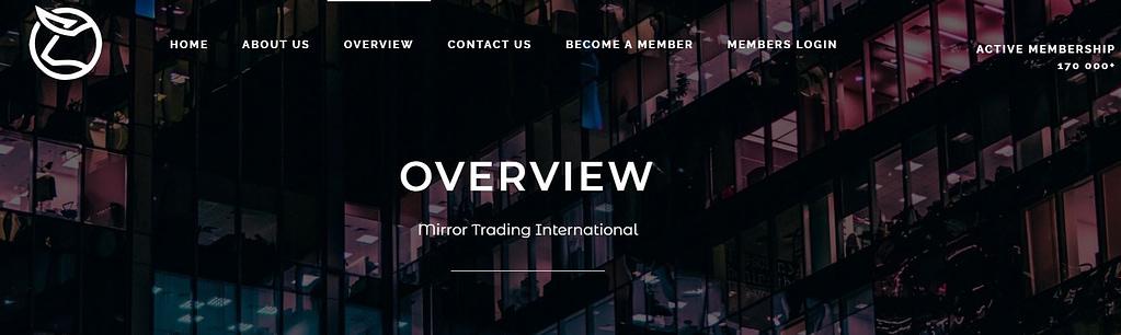 Mirror Trading International Bitcoin Scam