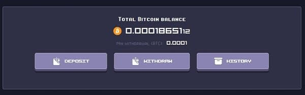 Rollercoin Game Bitcoin Wallet