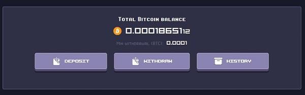 Rollercoin Game Bitcoin Wallet