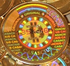 casascius collectible coin