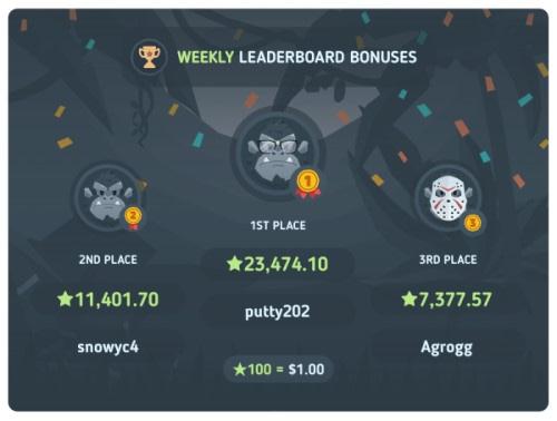 bitkong weekly bonuses