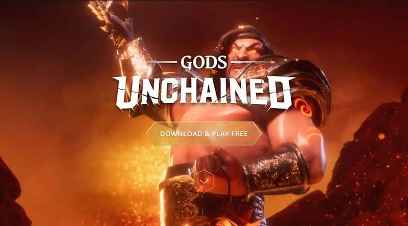 gods unchained blockchain review