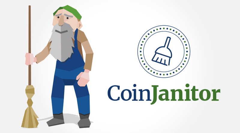 coinjanitor cleaning crypto