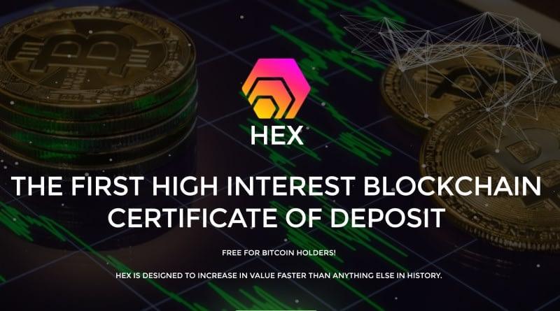 hex coin by richard heart bitcoin