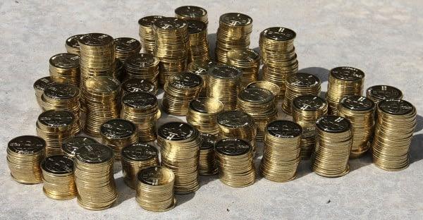 casascius coins when they were still being made